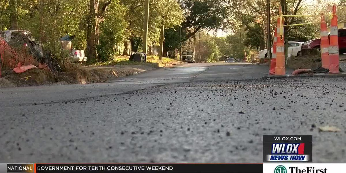 Biloxi down to seven miles of roads to fix, but that's little comfort to those still in the mess