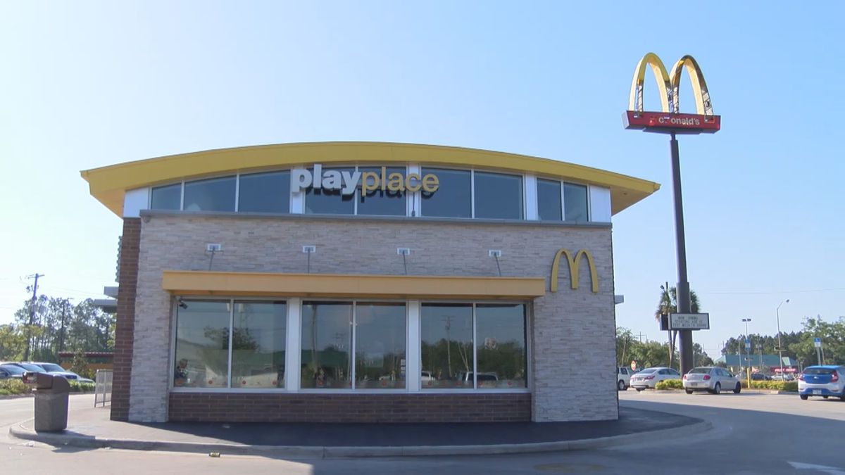 Four Gulf Coast McDonald's locations offer free meals to law enforcement