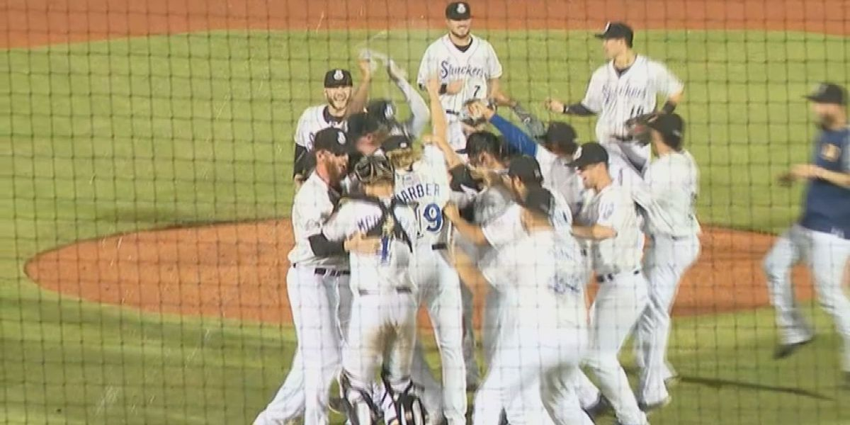 Shuckers heading to Southern League Championship Series