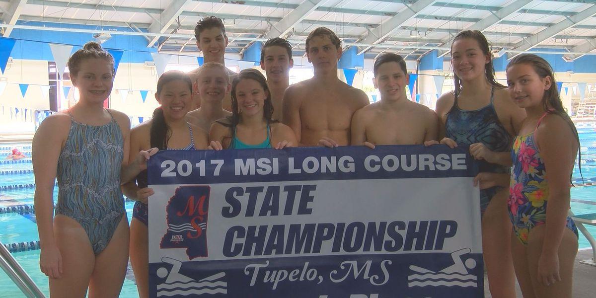 Biloxi Elite Swim earns highest State Championship finish in program history