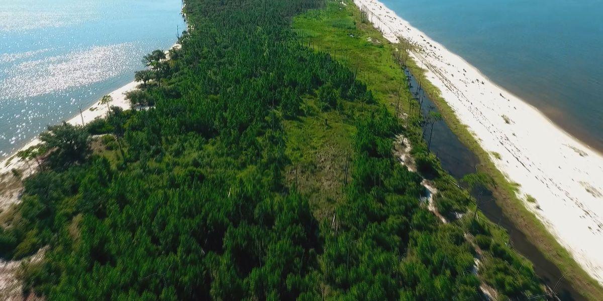 Drones help map Deer Island