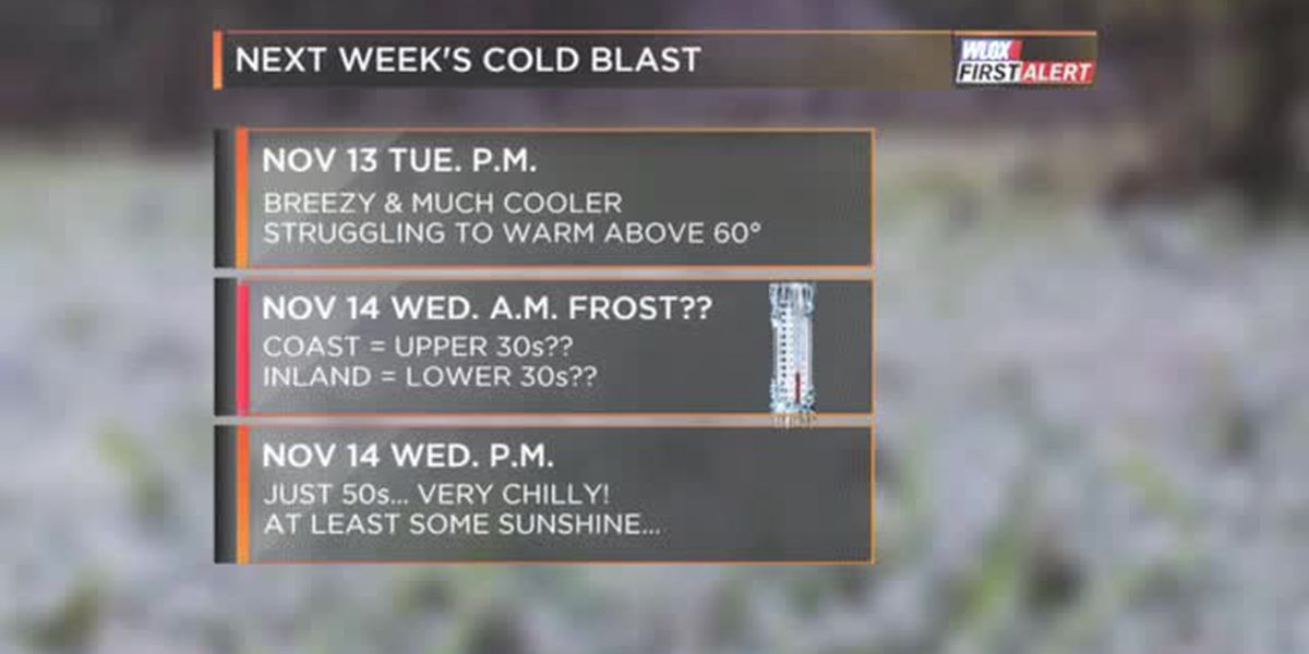 FORECAST VIDEO: Mid-November cold blast approaching