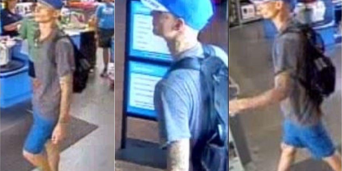 Biloxi police looking for Walmart shoplifter
