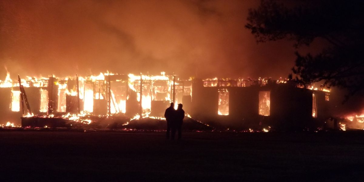 Kiln family loses home, family dog in massive house fire
