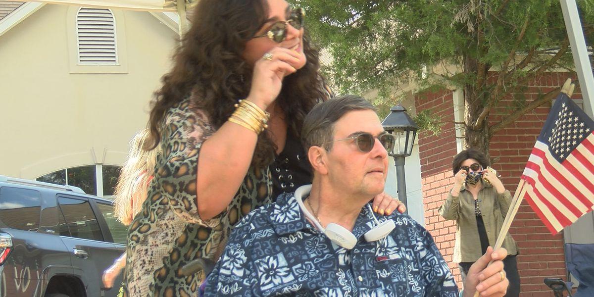 Nine months after hospitalization, Madison Alderman Warren Strain celebrated with homecoming parade