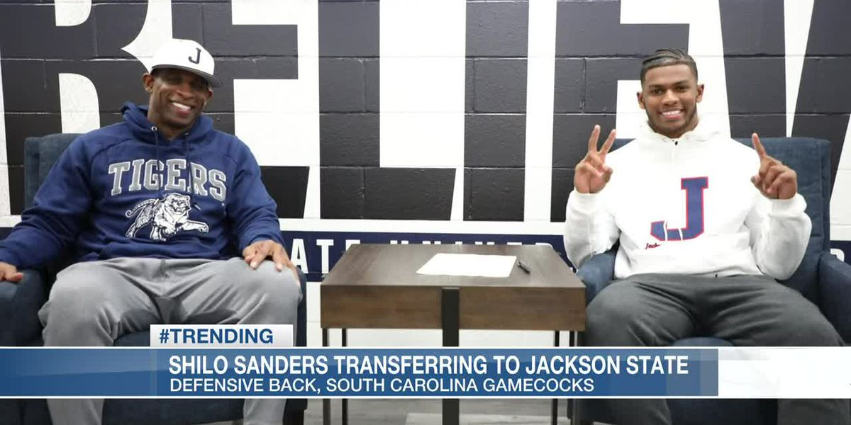 Shilo Sanders transferring to Jackson State University