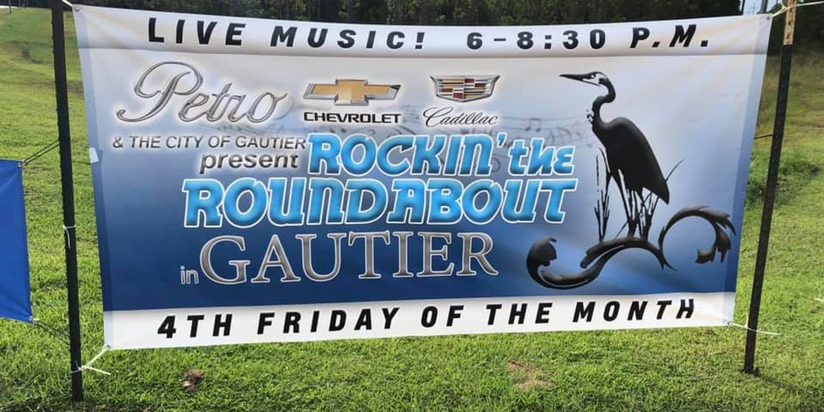 Great turnout for inaugural Rockin' the Roundabout in Gautier