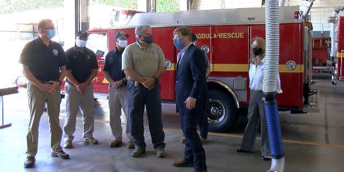 Pascagoula Fire Department gets new ventilation system with federal money