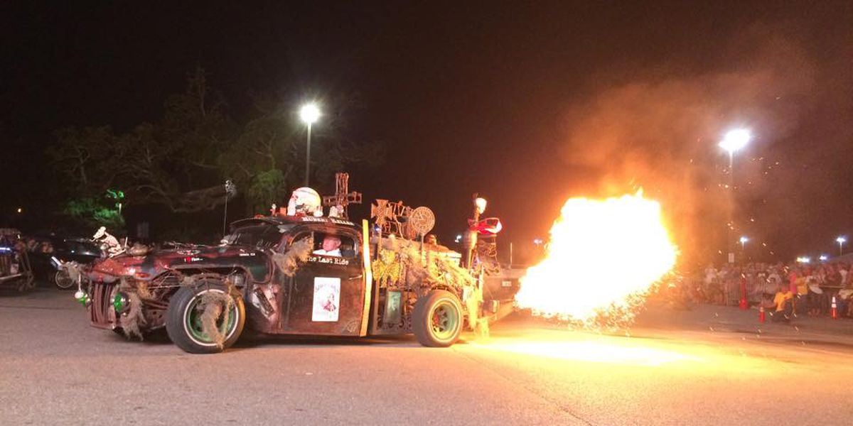 Flame Throwing Competition is fan favorite during Cruisin' the Coast