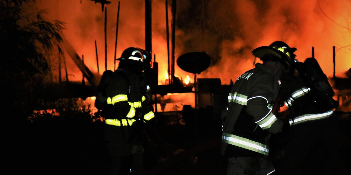 One person escapes mobile home fire in Harrison County