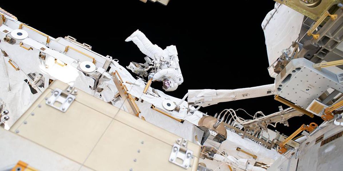 WATCH LIVE: Spacewalking astronauts replace more station batteries
