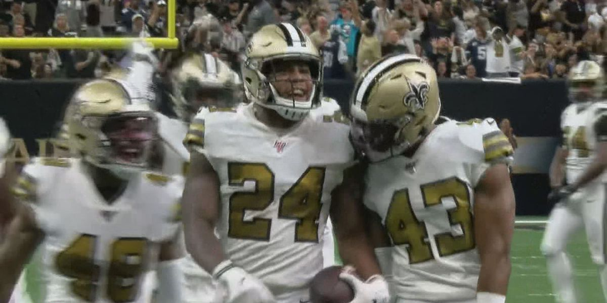 Saints hand Cowboys first loss of season in defensive slugfest