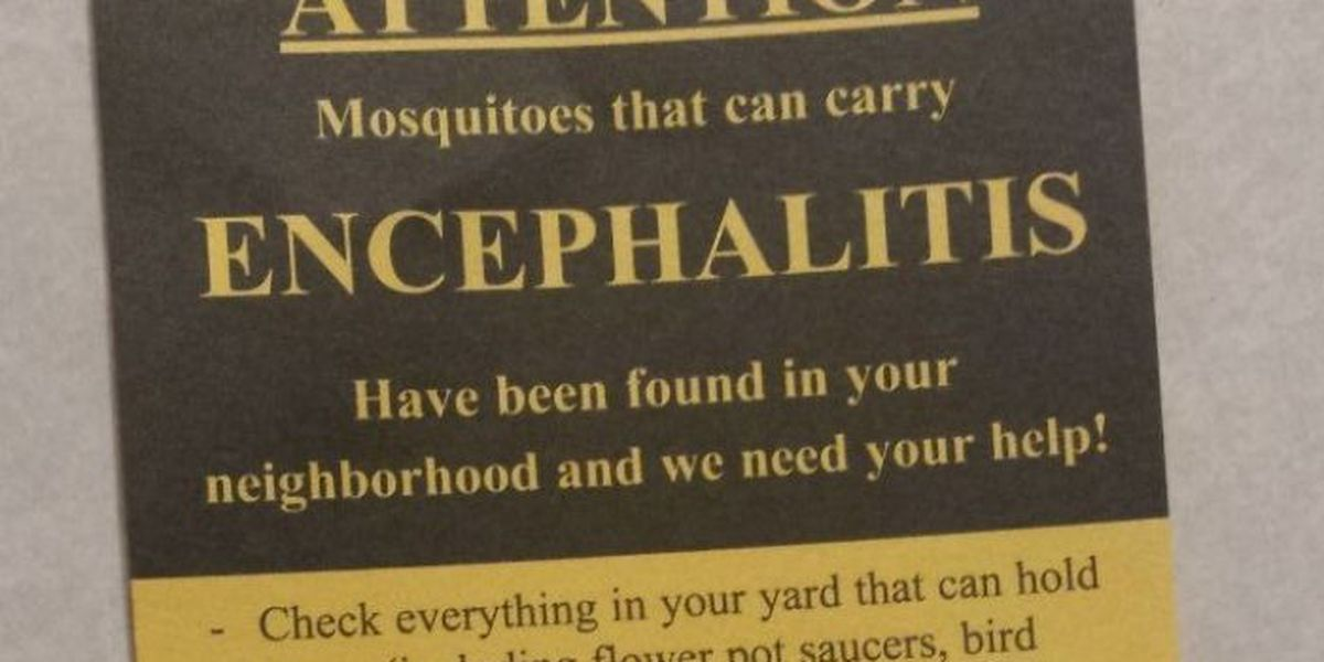 Mosquito borne illness a concern in Jackson County