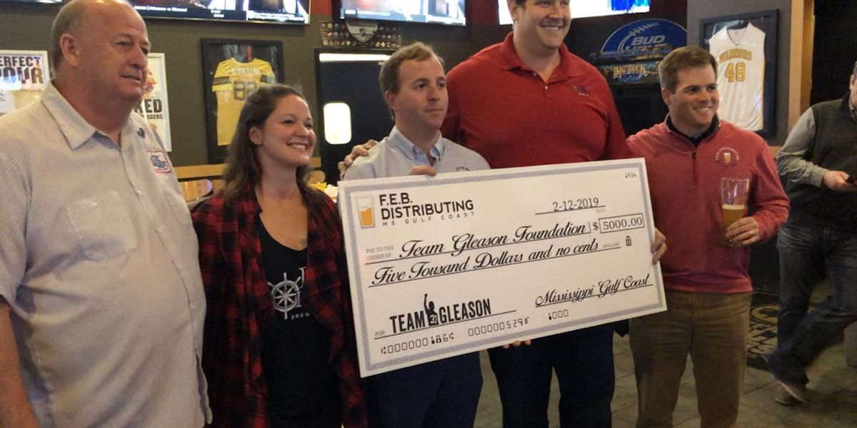 Zach Strief gives back to Team Gleason, with an assist from South Mississippi