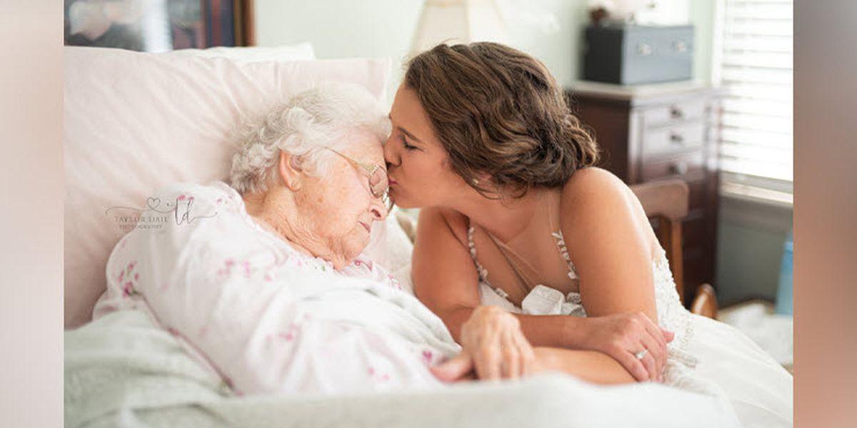 """Longtime friend helps N.C. bride capture """"favorite memory"""" with grandma"""