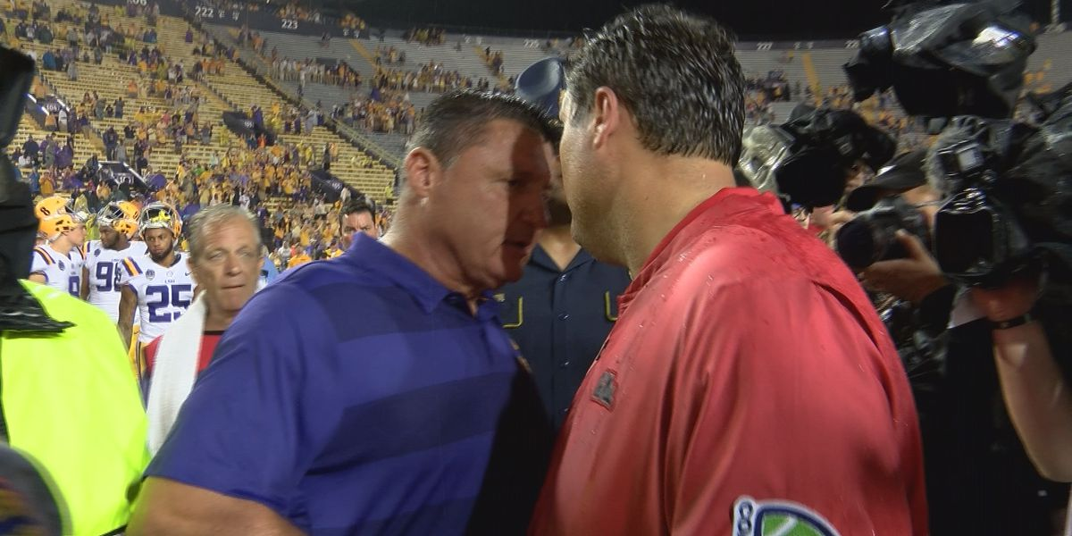 Rebels penalized, Burrow shines as Ole Miss falls to #5 LSU 45-16