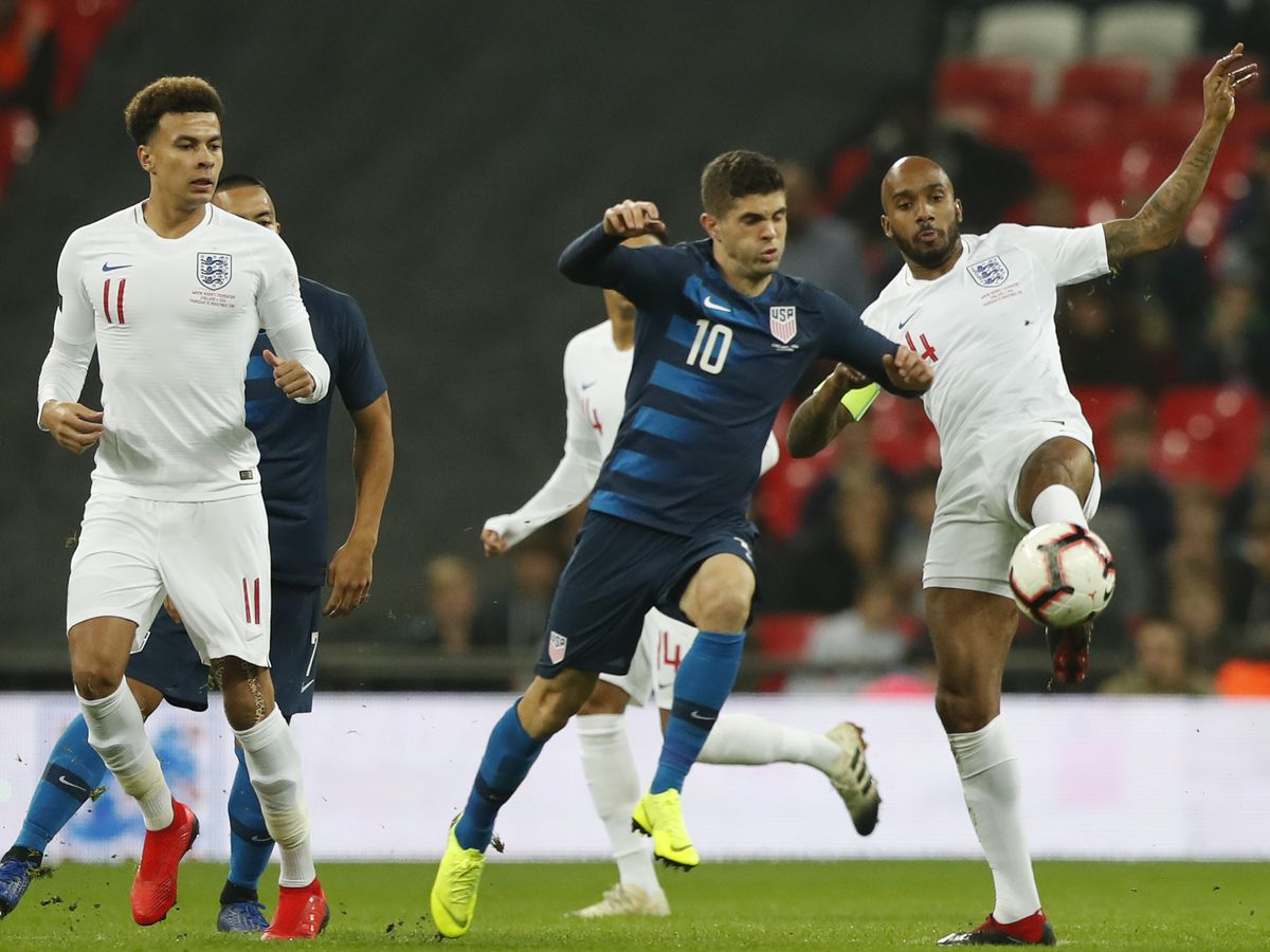 Pulisic back as US loses 3-0 at England; no goal for Rooney