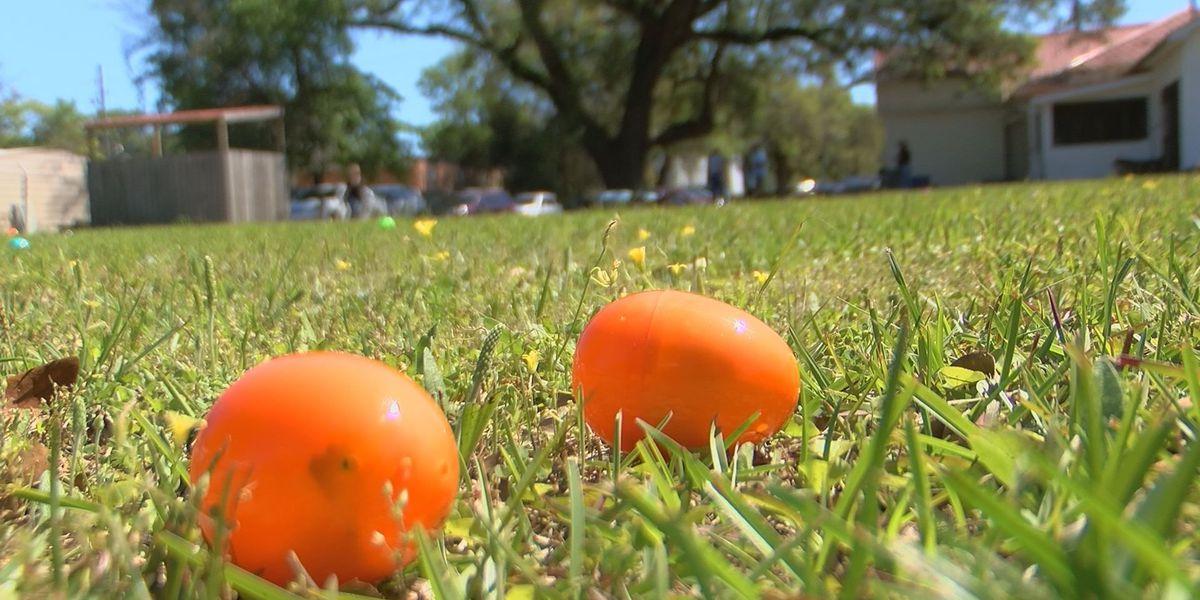 American Legion Post 33 hosts Special Needs Organization Easter egg hunt