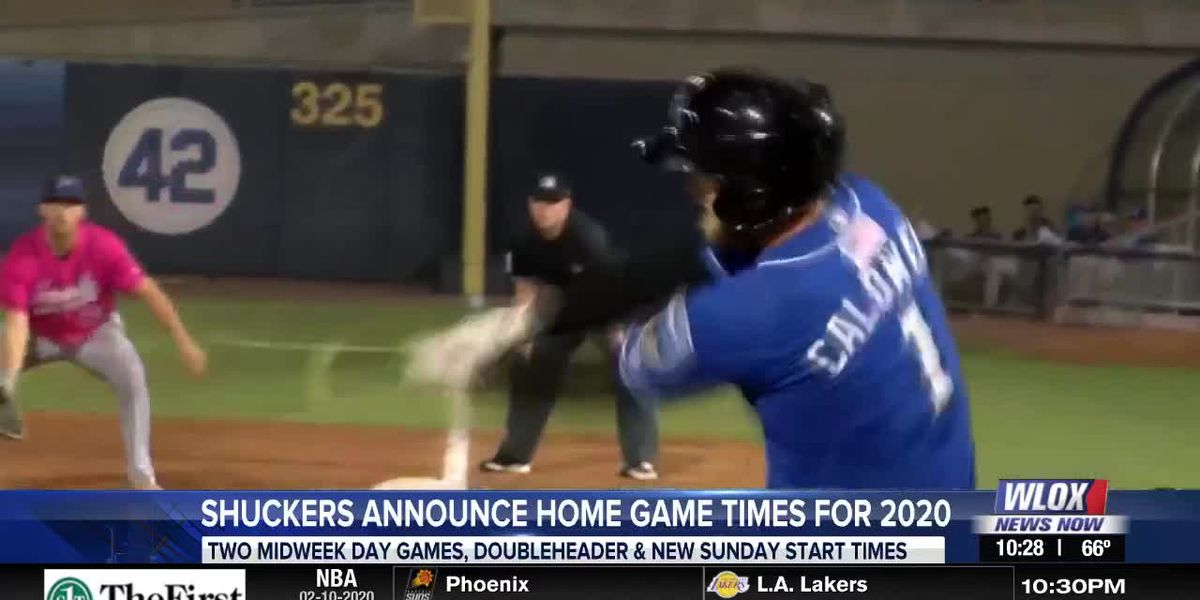 Shuckers release home game time schedule for 2020 season