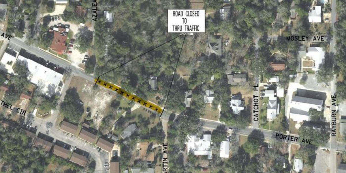 Portion of Porter Ave. closing Monday for construction