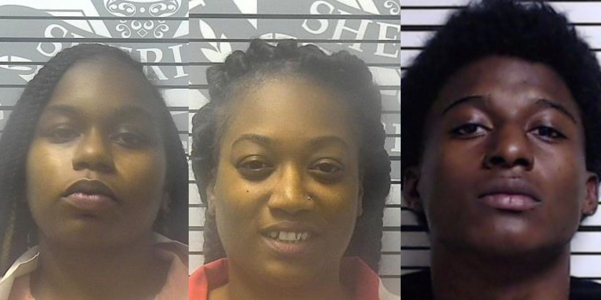 Two suspects arrested, one wanted in-connection with drive-by shooting in Gulfport
