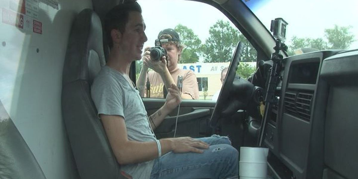 Coast DJ sits in truck without AC to raise awareness about pets left in heat