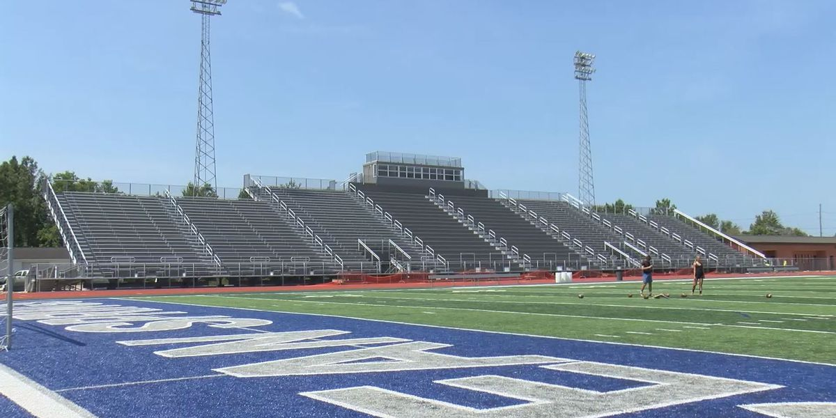 Ocean Springs high school racing against clock to complete stadium renovations