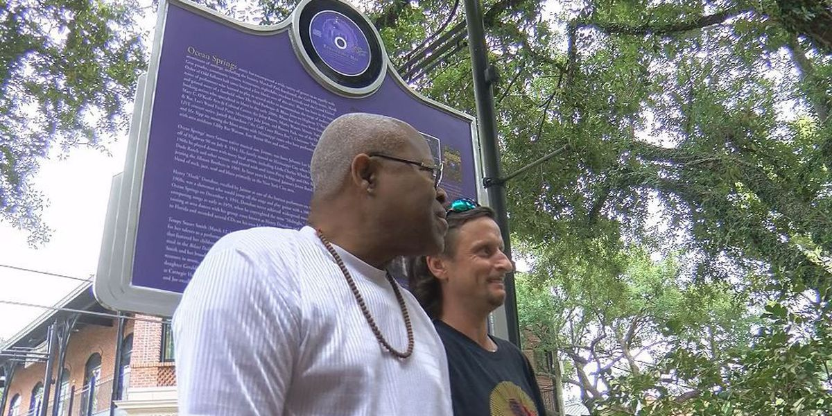Ocean Springs Blues Trail Marker honors Jaimoe Johnson