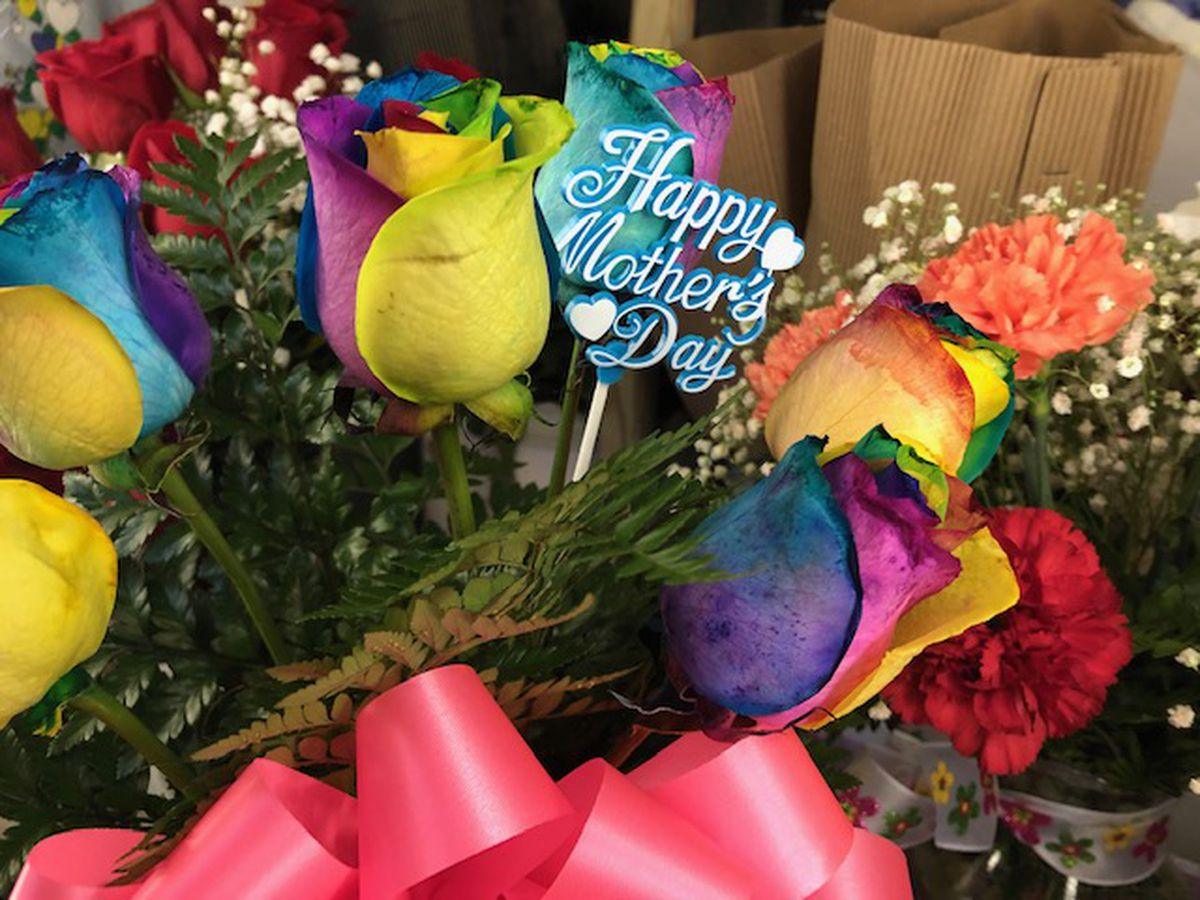 Florists slammed with Mother's Day deliveries