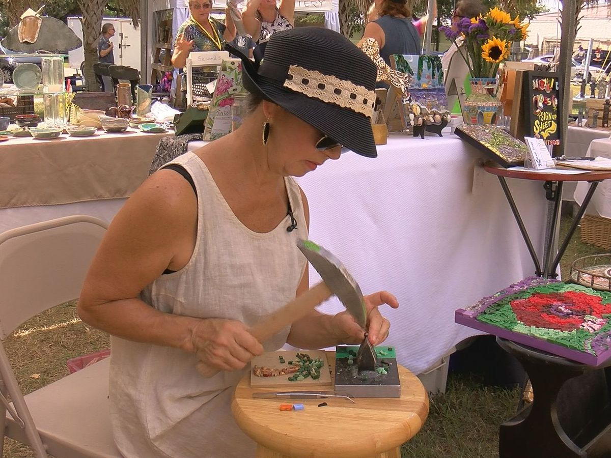 Artists showcase unique works at Mermaids Arts and Crafts Show