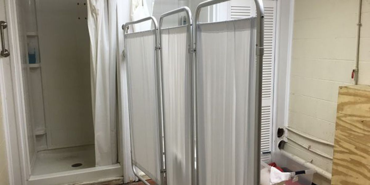 Charitable program gives people the dignity of a shower, clean clothes