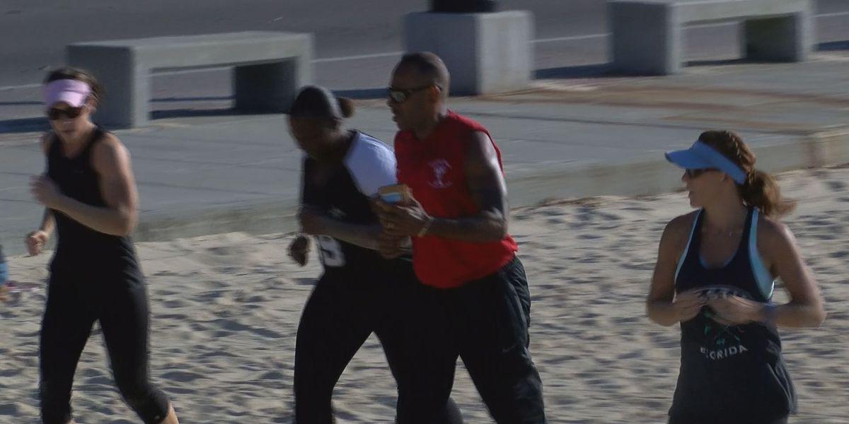 Health enthusiasts prepare for Battle on Buffett Beach