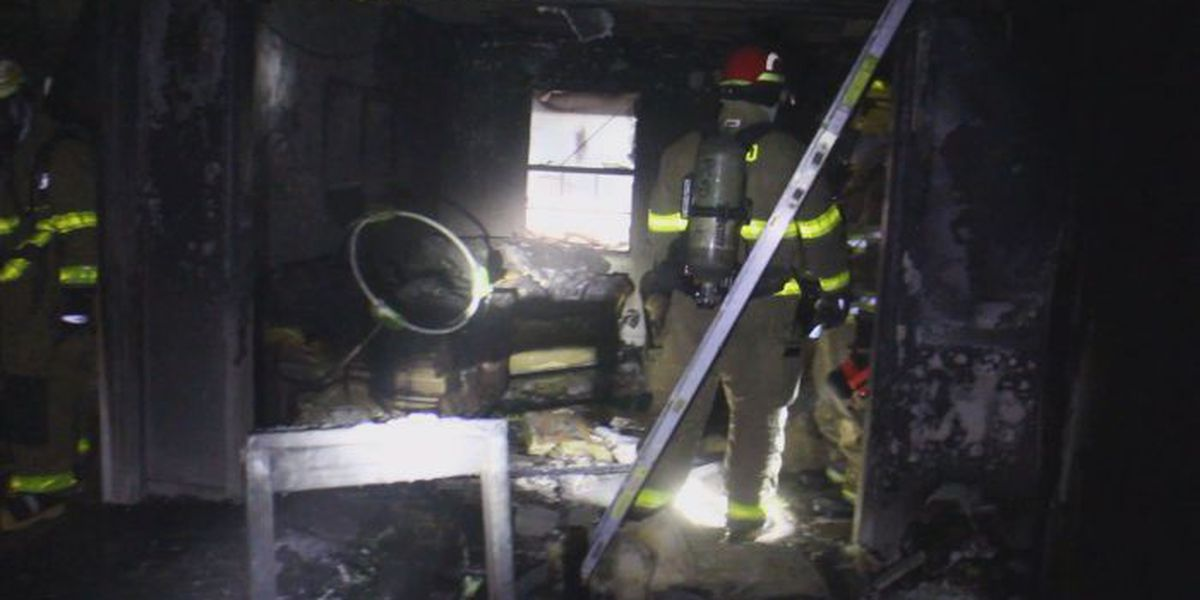Infant rescued from Harrison Co. home during overnight blaze