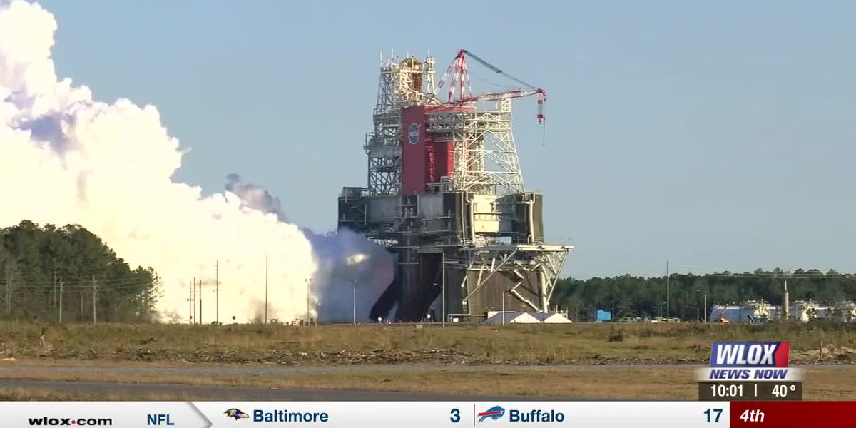 'We had a successful initiation of the engines': NASA test-fires its first SLS mega-rocket