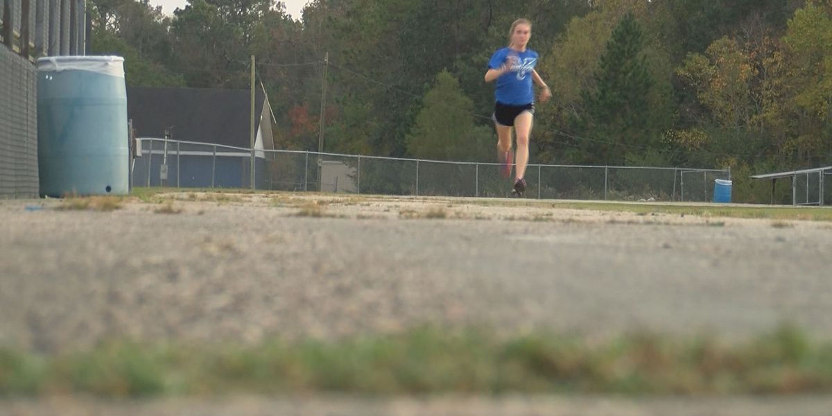 Vancleave's Lina May made the right move by choosing Cross Country over Soccer