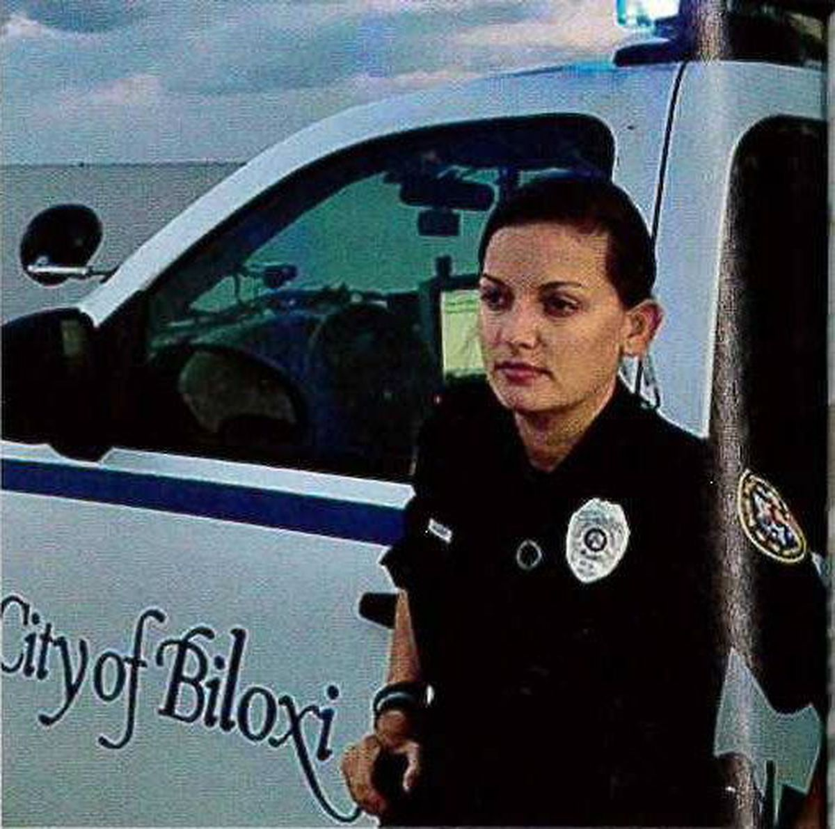 Biloxi Police Officer Featured In Glamour Magazine S September Issue