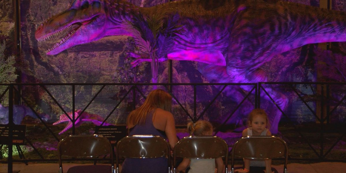 Dinosaurs invade the Convention Center