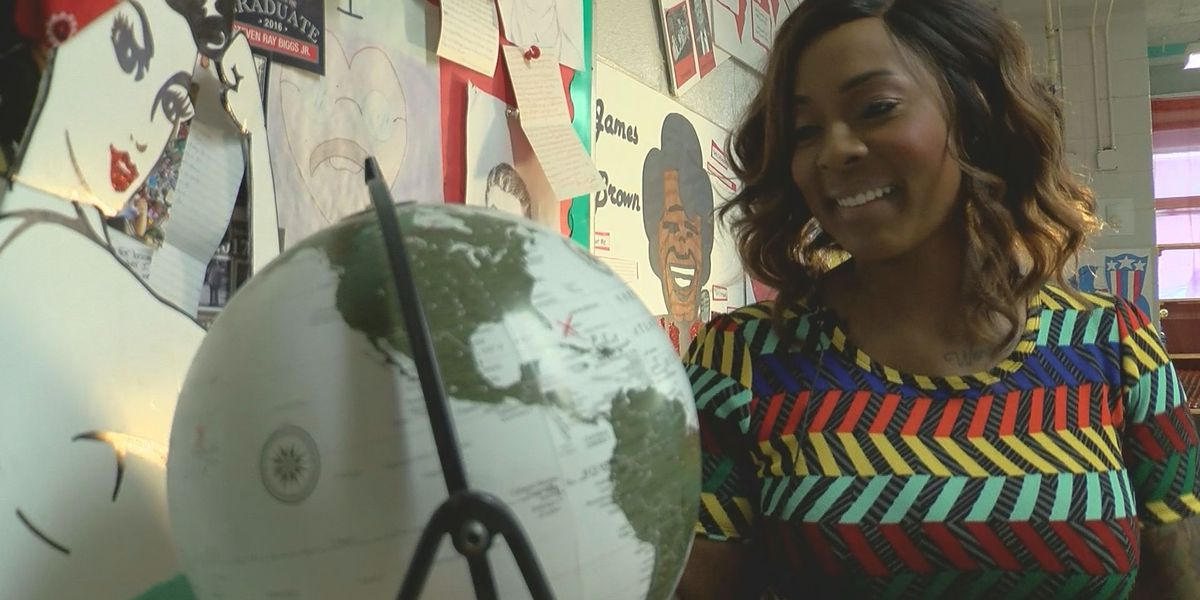 South Mississippi Strong: Harrison Co. teacher uses her own story of loss and perseverance to inspire students