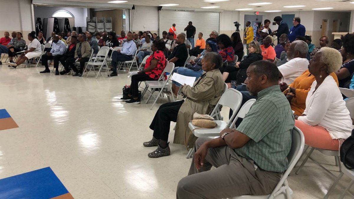 Residents voice concerns over potential Gaston Point Elementary Closure