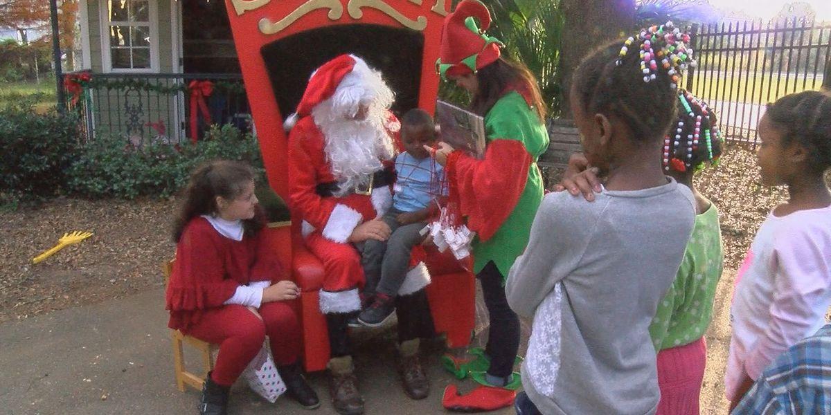 Gulfport Junior Auxiliary host Polar Express themed Christmas giving event