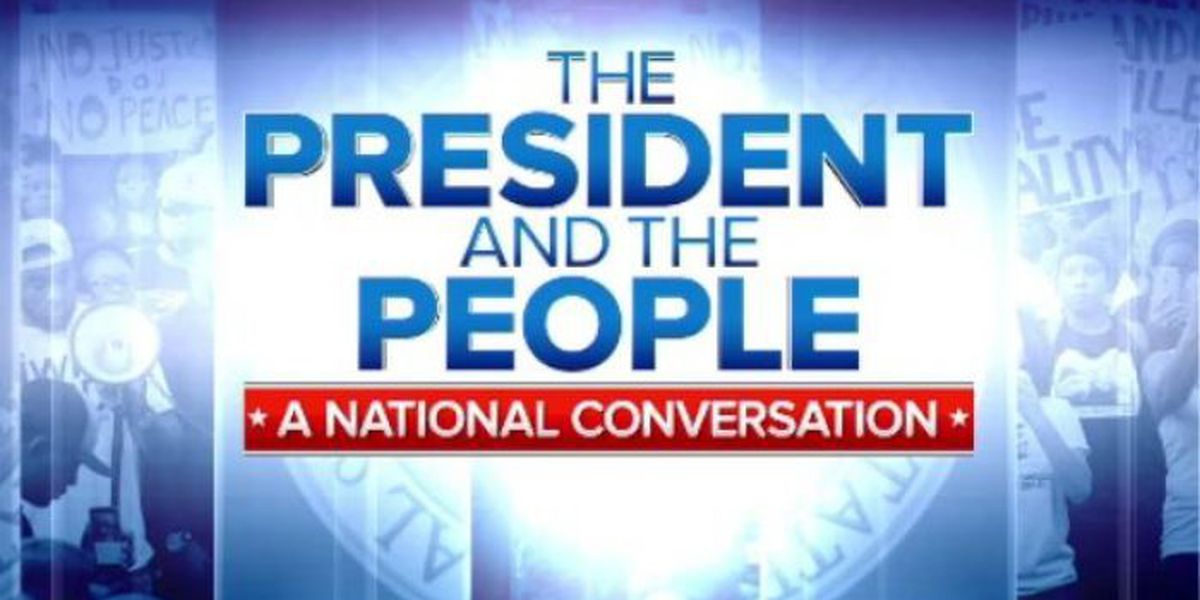WATCH LIVE NOW: The President and the People