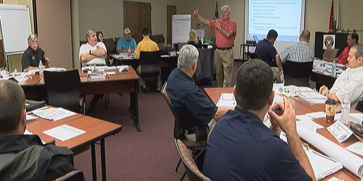 First responders train for disaster situations in Biloxi