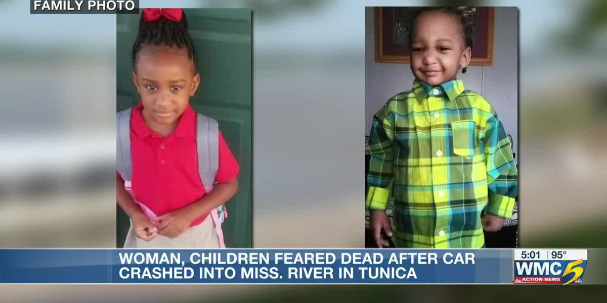 5-year-old recovered from Miss. River after car crash; search continues for missing 2-year-old