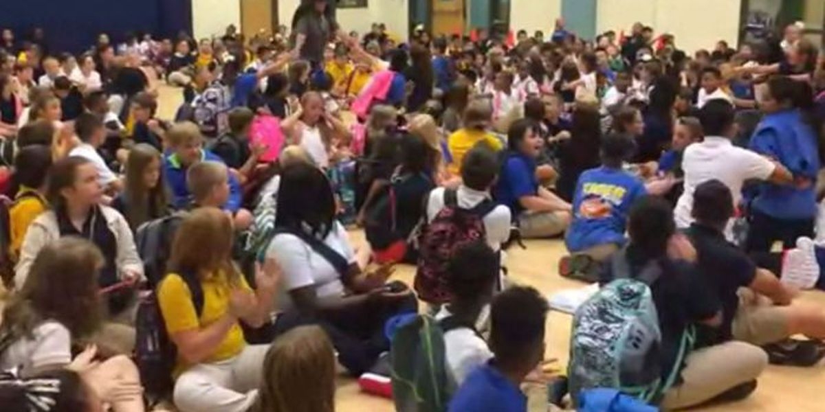 Bay-Waveland students return to class with high energy
