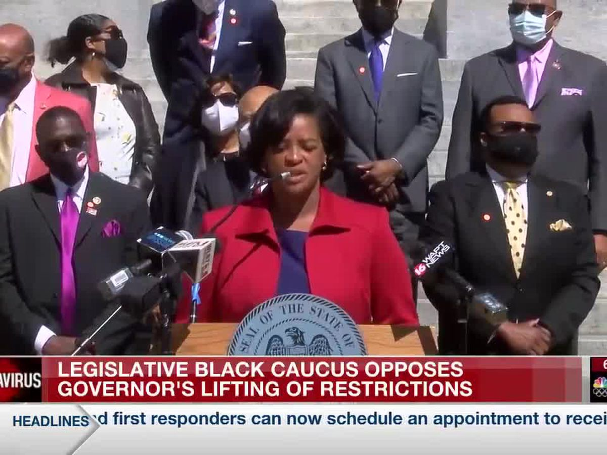 Legislative Black Caucus opposes governor lifting COVID-19 restrictions