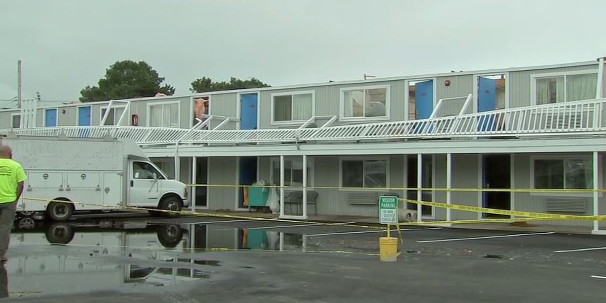 WATCH: Tornado rips roof off Mass. hotel with guests still inside