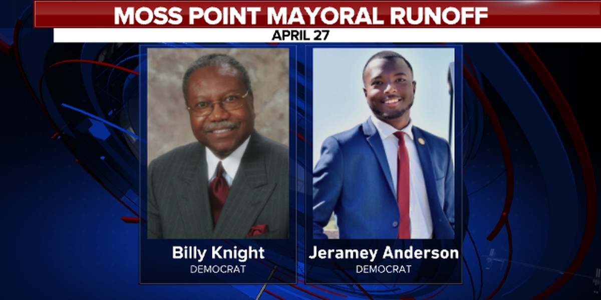 Knight, Anderson edge closer to mayoral office as they head to a runoff in Moss Point