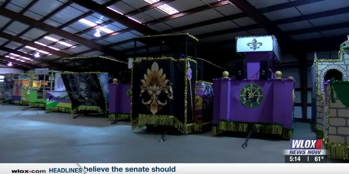 GCCA float den quiet due to parade-less 2021 Mardi Gras season