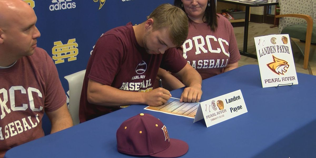 Landen Payne signs with Pearl River