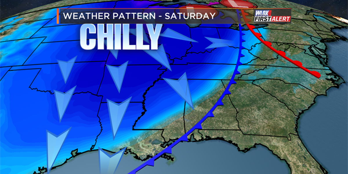 Serious chill arrives this weekend